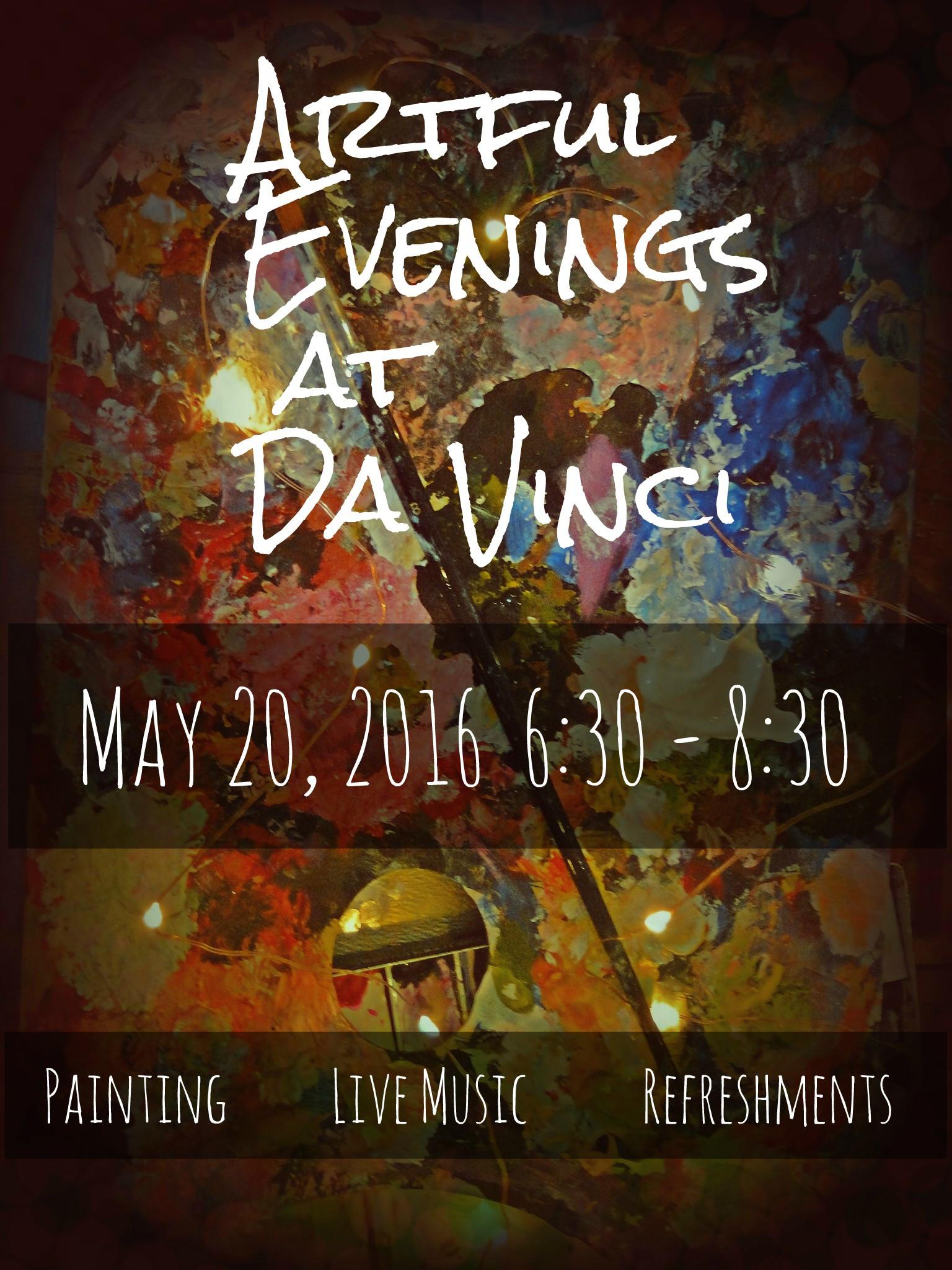 Artful Evenings at Da VInci