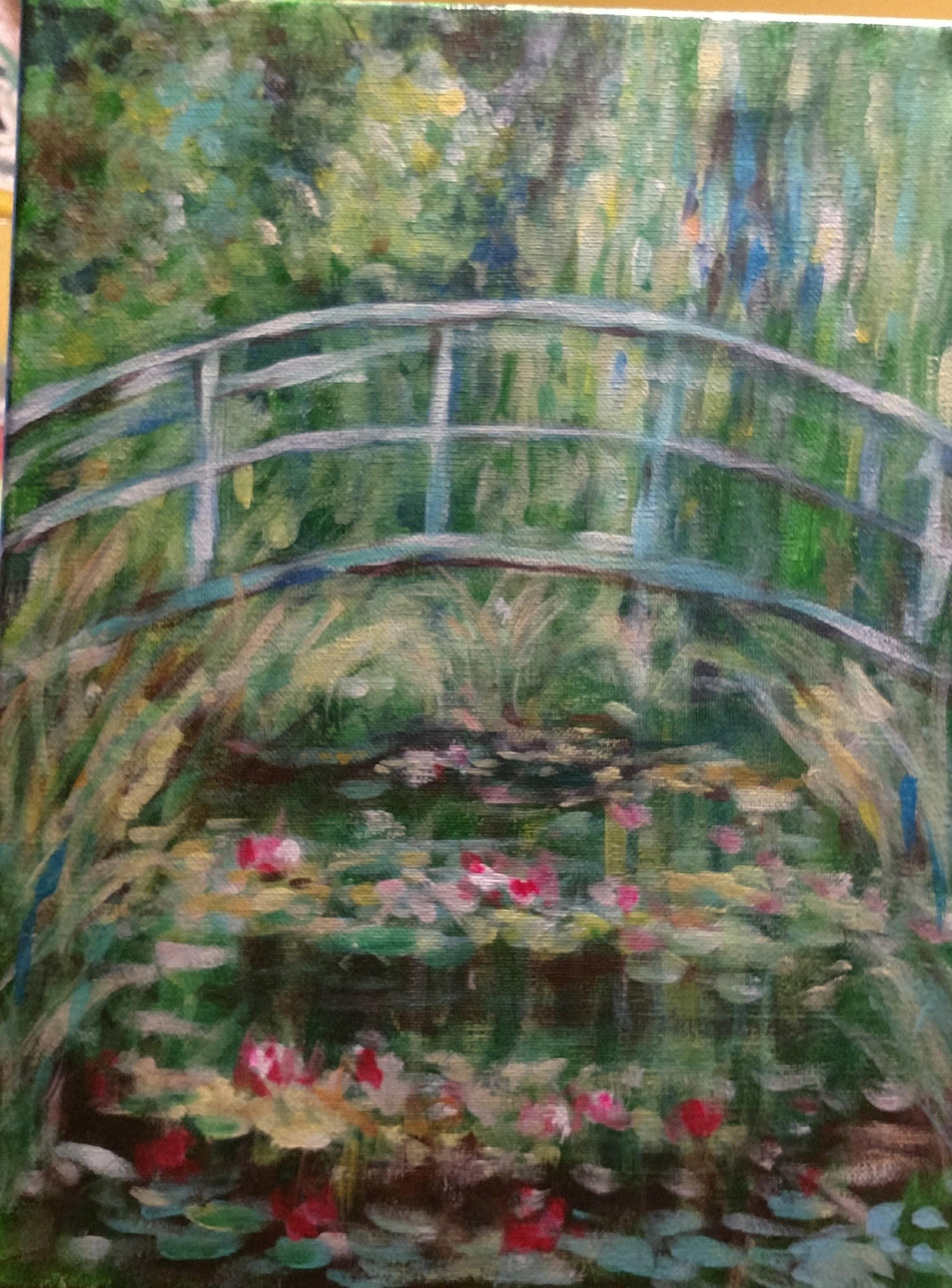Monet-Inspired