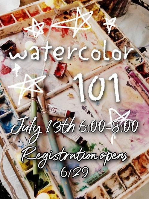 Watercolor 101 Kit