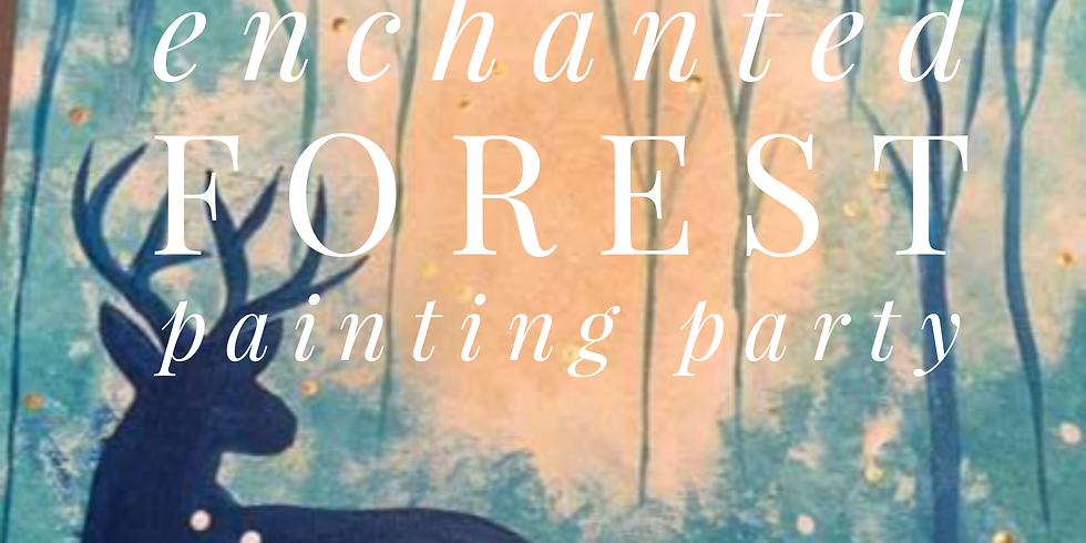 Enchanted Forest Painting Party