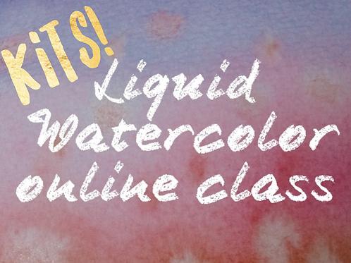 Liquid Watercolor Kits