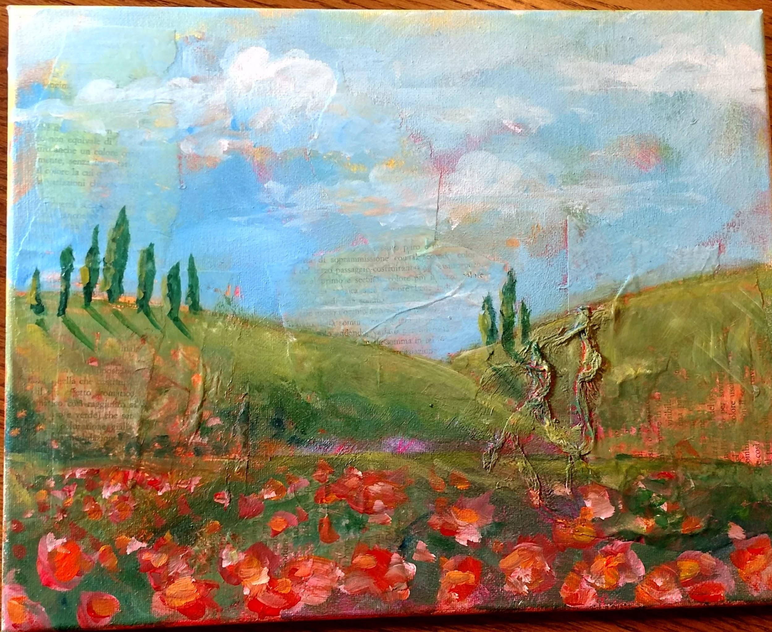 Dreamy Italian Landscape