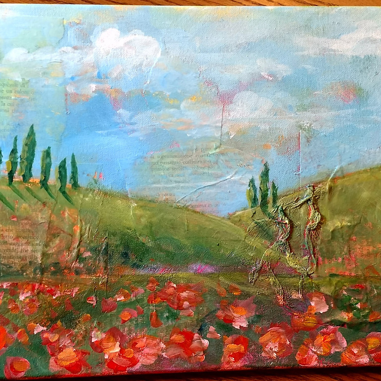 Online Italian Landscape Painting class
