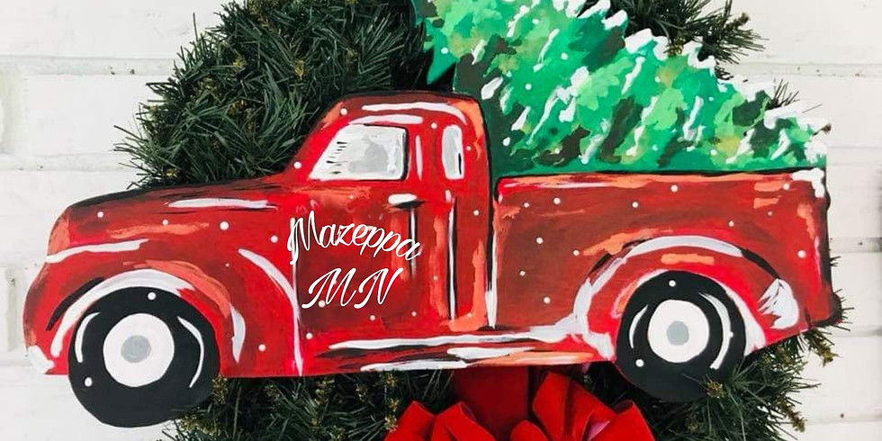 Truck and Tree Painting Party!