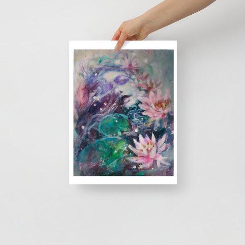 Lily Dreams Print