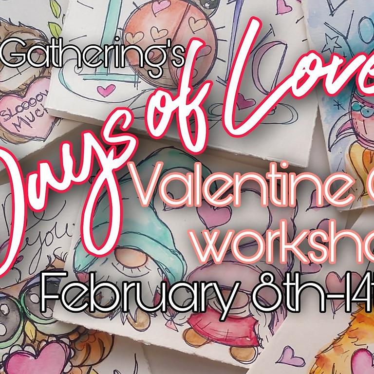 7 Days of Love: Valentine Cards