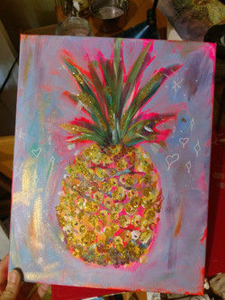 Bedazzled Pineapple