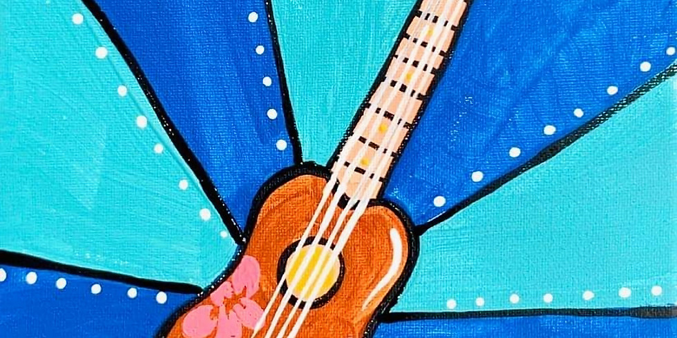 Guitar Painting Party Kit
