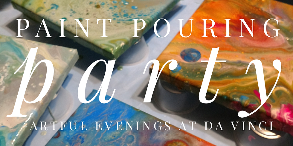 Paint Pouring Party