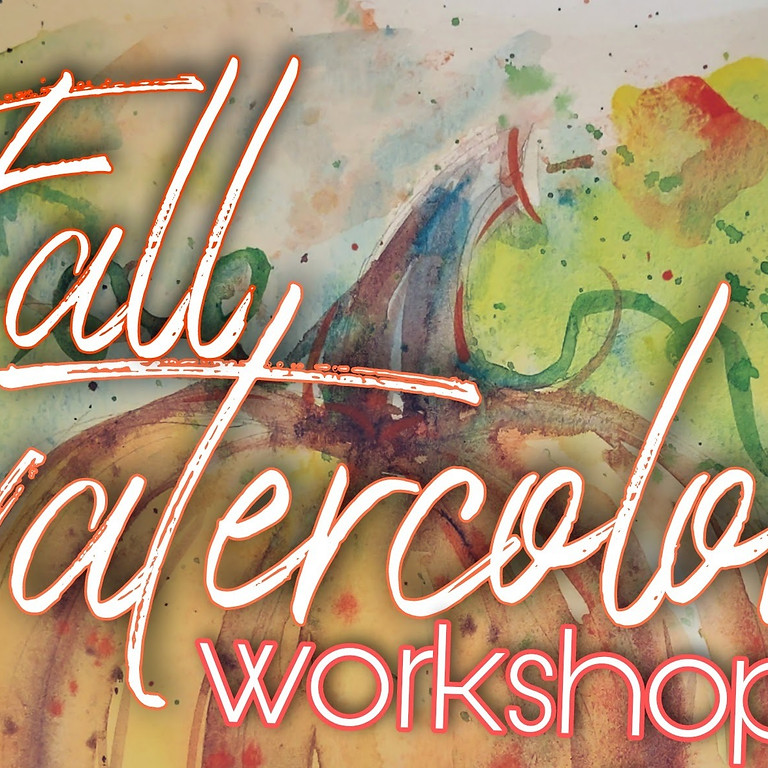 Fanciful Fall Watercolor Workshop