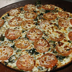 Spinach Alfredo Pizza