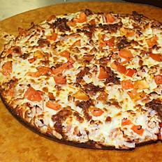 Turkey Club Pizza