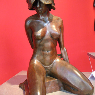 Roxane Bronze H 38cm - Tirage 2/8 Fondeur à Paris 5000€