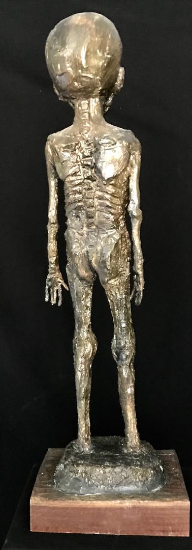 Jean Sébastien Raud sculpture engagée faim dans le monde