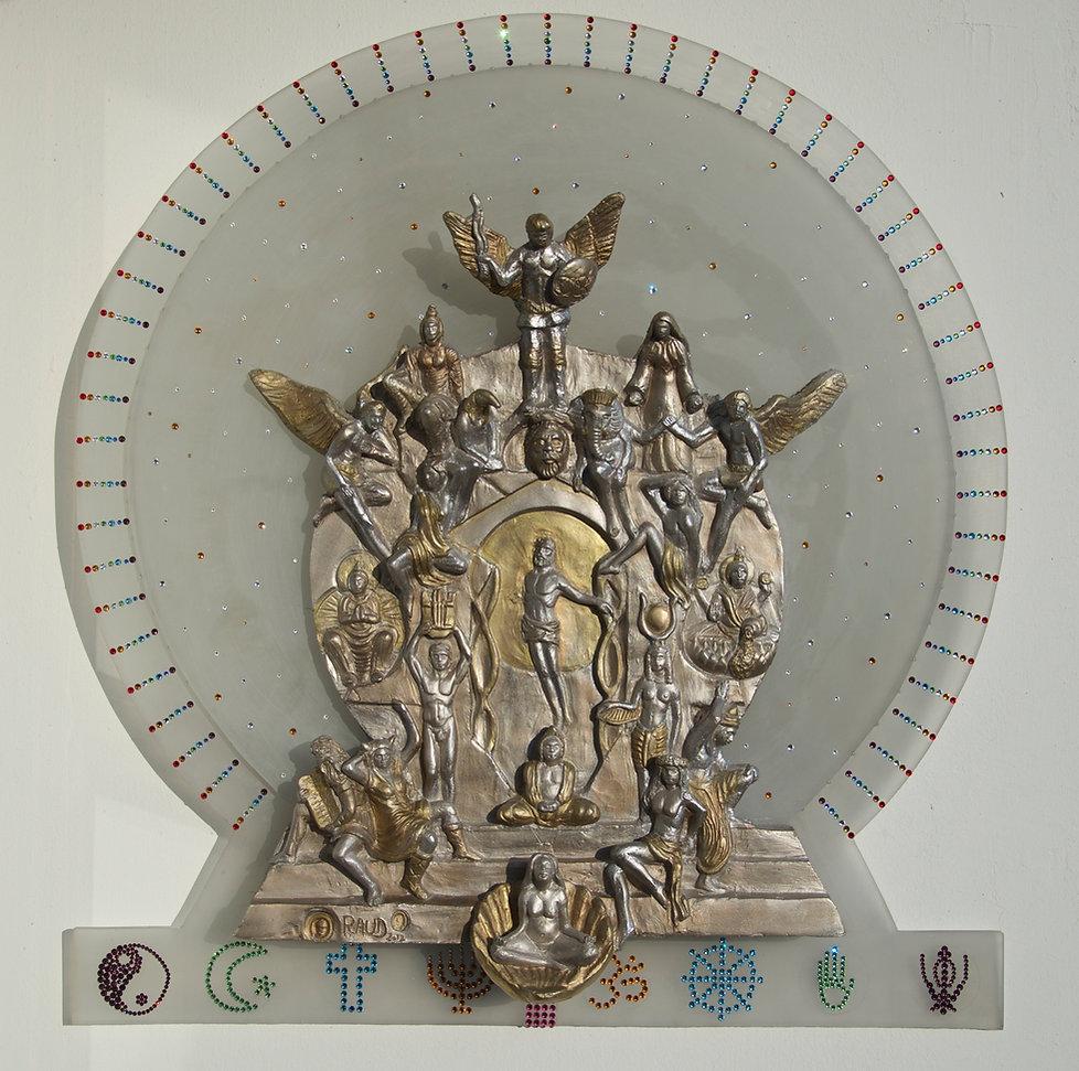 Jean Sébastien Raud sculpture engagée spiritualité