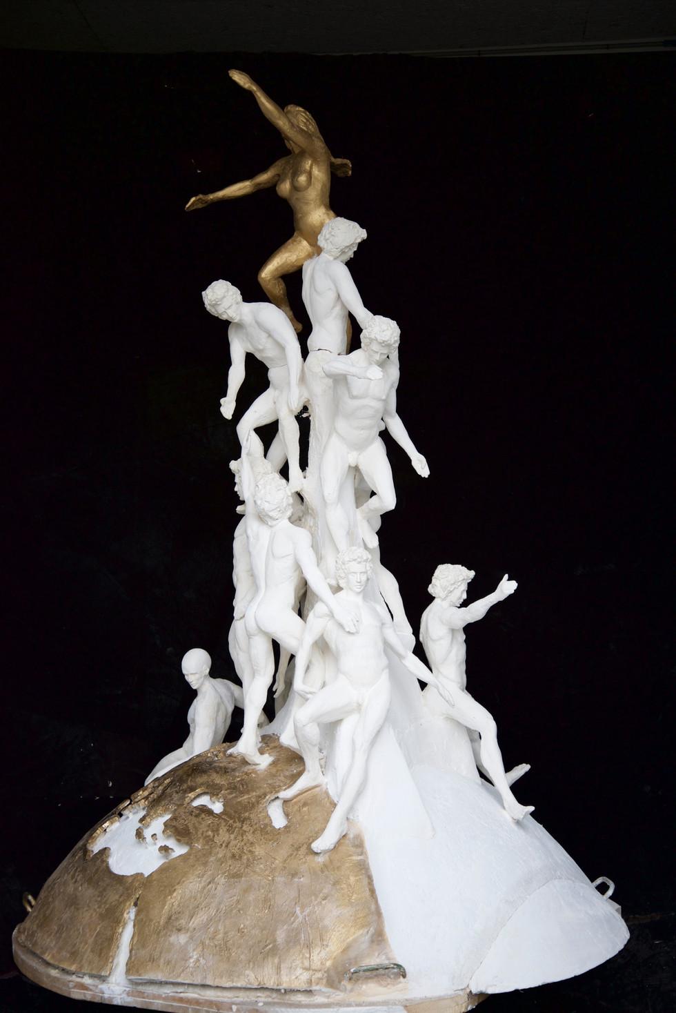 Jean Sébastien Raud sculpture engagée union européenne