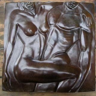 Sailor & Lula Bronze 38 cm X 38cm - Tirage 1/8 Fondeur à Paris 2500€