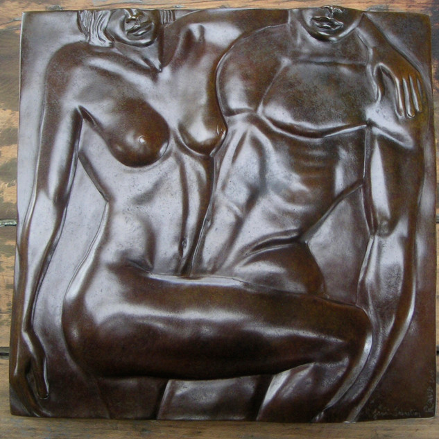 Sailor & Lula Bronze 38 cm X 38cm - Tirage 1/8 Fondeur à Paris 2500€