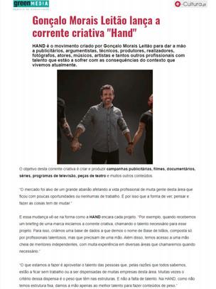 Hand @ e-Cultura.pt