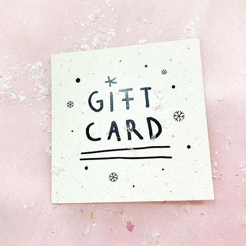 HANDPOKE TATTOO gift card