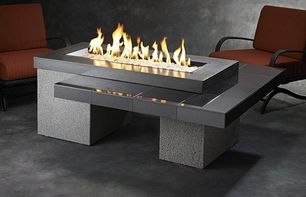 Black Uptown OGC Premium Fire Table