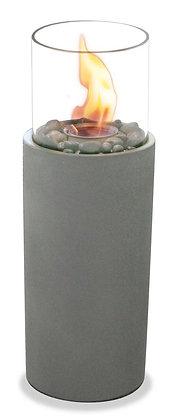 Tall Cylinder Outdoor Concrete Garden Burner