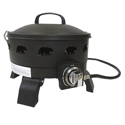 Portable Propane Campfire Fire Pit