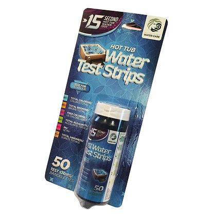 Beachcomber 15 Second Water Test Strips - 50 Count (Chlorine/Bromine)