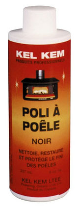 Stove Polish (Black) - 250mL
