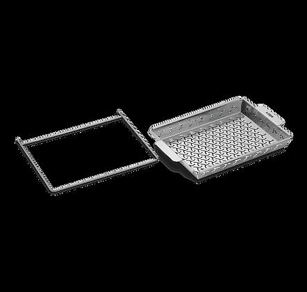 Grilling Basket Set Built for Elevations Tiered Grilling System
