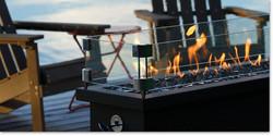 Barbara Jean Linear Fire Stand