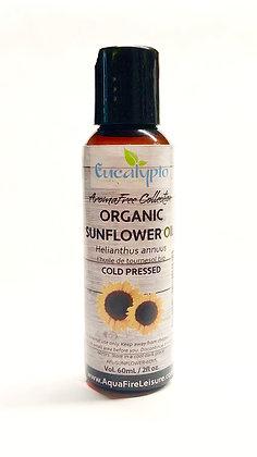 Organic Sunflower Carrier Oil 60mL