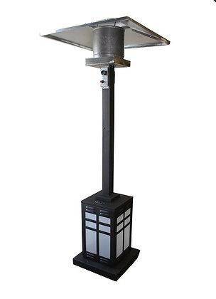 Illuminated Base Square Patio Heater