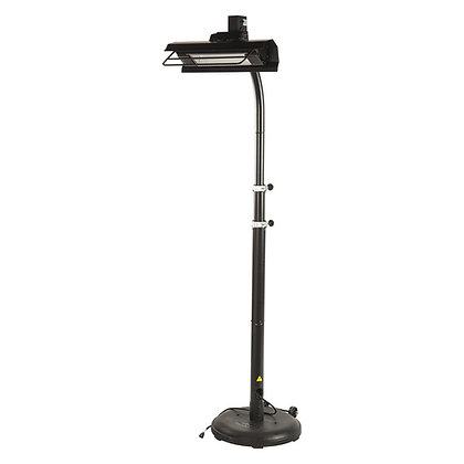 Black Powder Coated Infrared Patio Heater