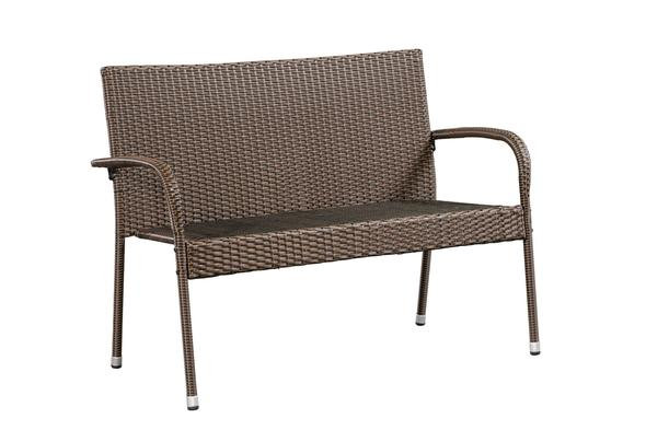 Hanna KD Wicker Bench