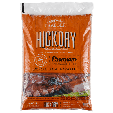 Hickory BBQ Hardwood Pellets