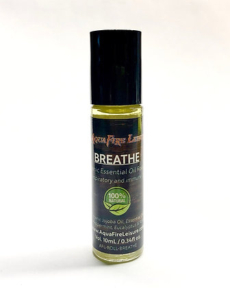 Breathe 10mL Essential Oil Roll On - Organic