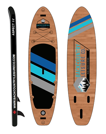 BACKCOUNTRY LEISURE CO. ASPECT 11' STAND UP PADDLE BOARD & ACCESSORIES