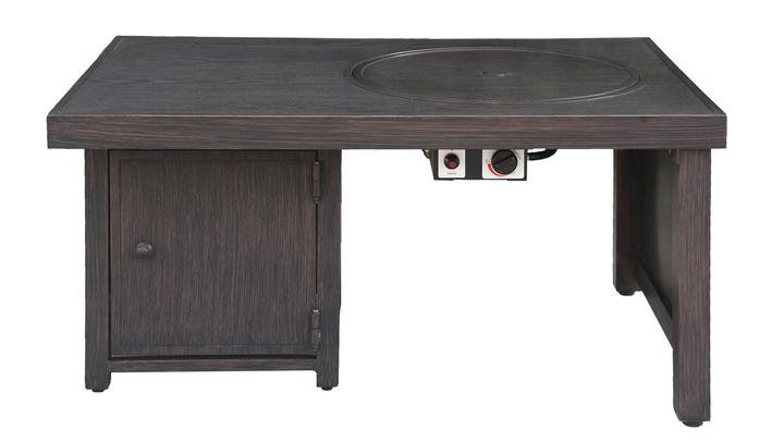 Harrison Offset Convertible Fire Table