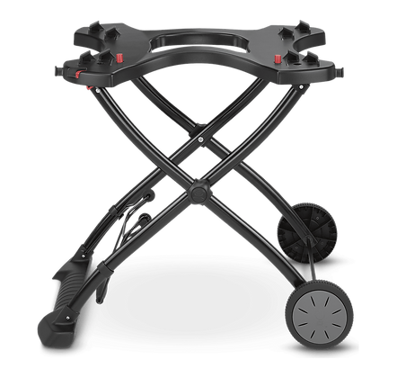 Portable Cart Built for Q 1000/2000 series gas grills