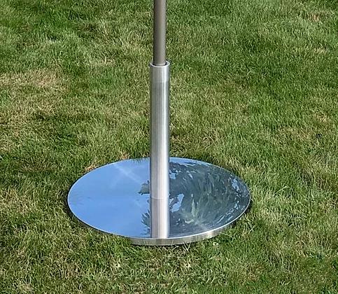 Chrome Umbrella 50lb Base