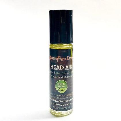 Head Aid 10mL Essential Oil Roll On - Organic