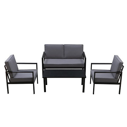 Tylor 4pc Aluminum Conversation Set
