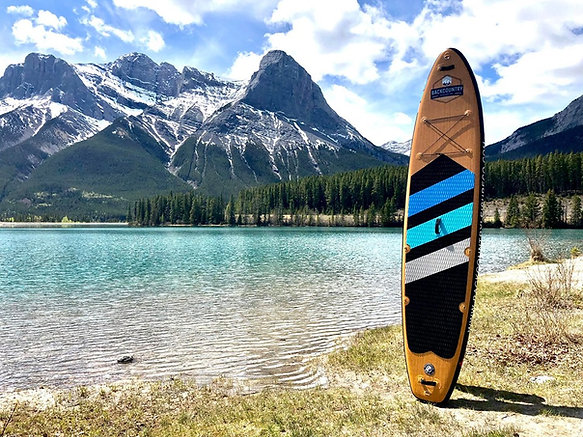BACKCOUNTRY LEISURE CO. ALPINE 12' STAND UP PADDLE BOARD & ACCESSORIES