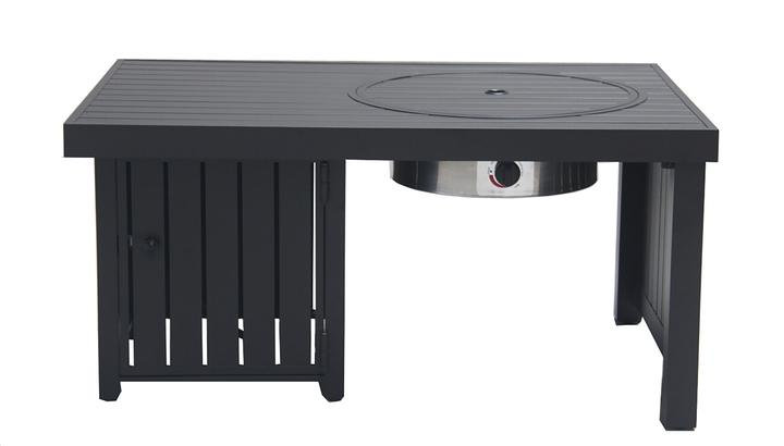 Offset Propane Fire Table
