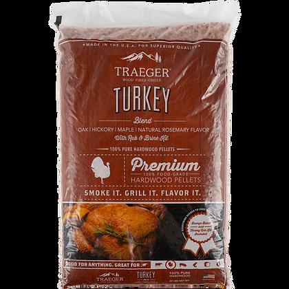 Turkey Hardwood Pellet Blend w/ Brine Kit