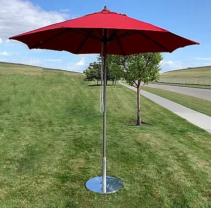 8' Market Umbrella in Sunbrella Fabric