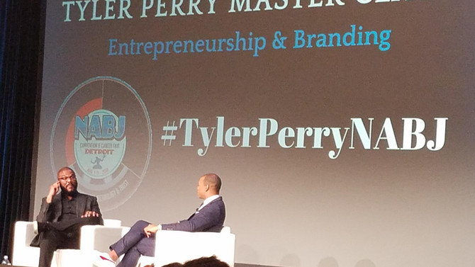 Tyler Perry Master Class