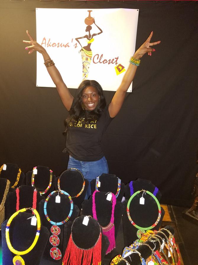 I'm Erica Akosua Ayisi-Journalist & Entrepreneur