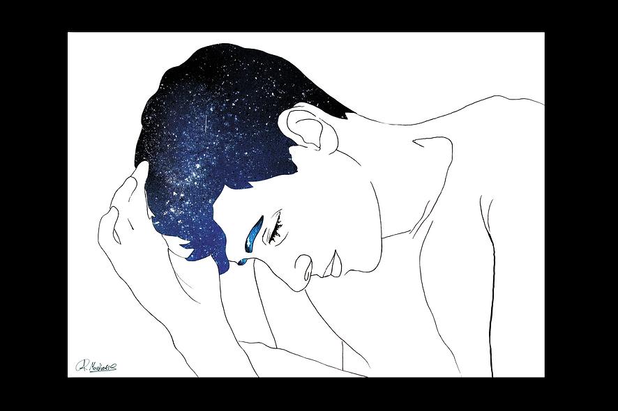 Where is my mind - Art Print